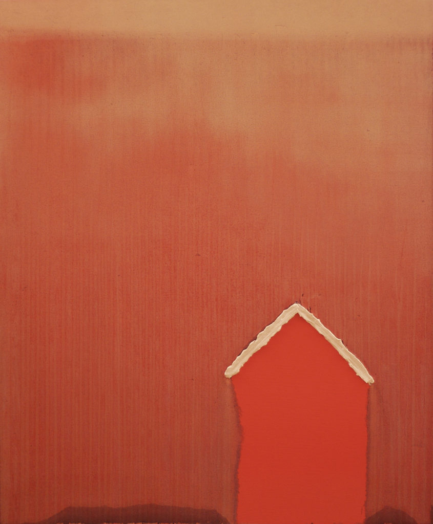 "Pink House | Jeff Nye, 2010 | oil on canvas | 28"" x 22"""