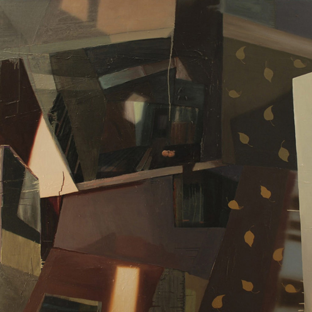 "Recovery Room | Jeff Nye, 2010 | oil on canvas | 60"" x 60"""