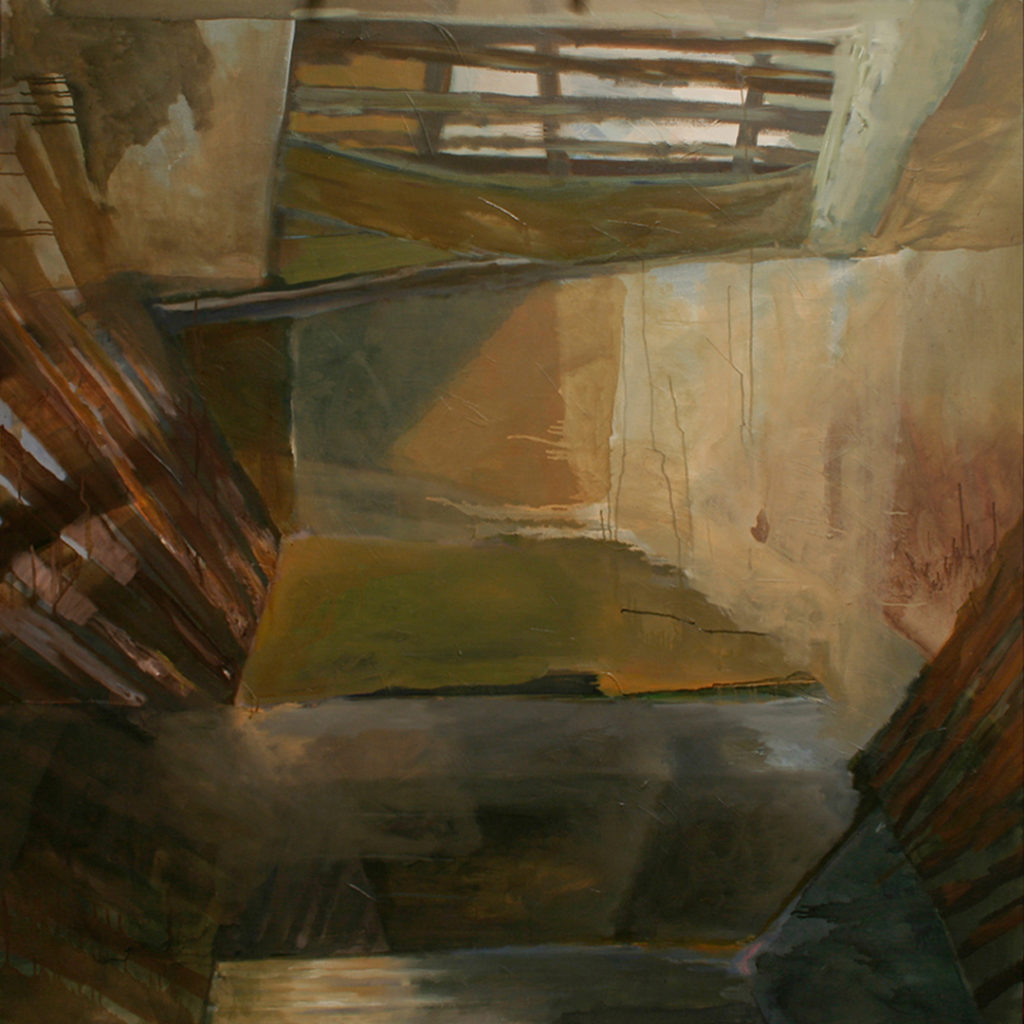 "Room 3 | Jeff Nye, 2006 | oil on canvas | 60"" x 60"""